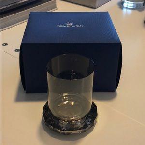Brand new in box Swarovski crystal candle holder